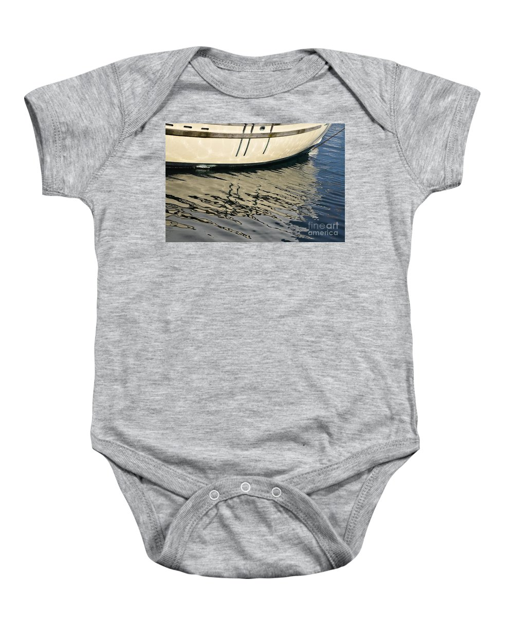 Abstract Baby Onesie featuring the photograph Musings by Lauren Leigh Hunter Fine Art Photography