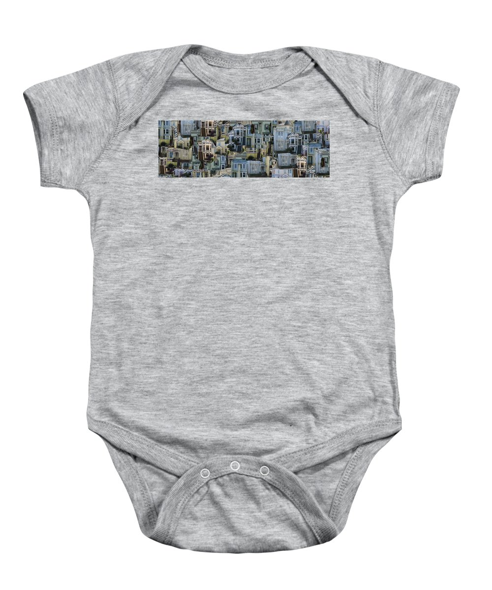House Baby Onesie featuring the photograph My House by George Pedro