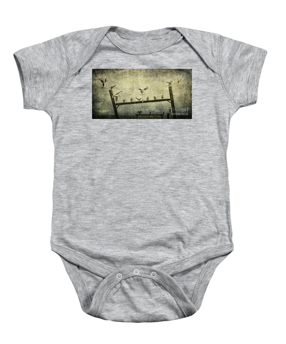 Birds Baby Onesie featuring the photograph Natural Order by Andrew Paranavitana