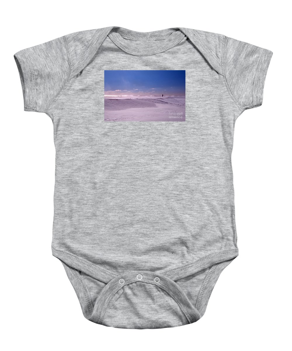Maritime Baby Onesie featuring the photograph Nearer My God To Thee by Skip Willits