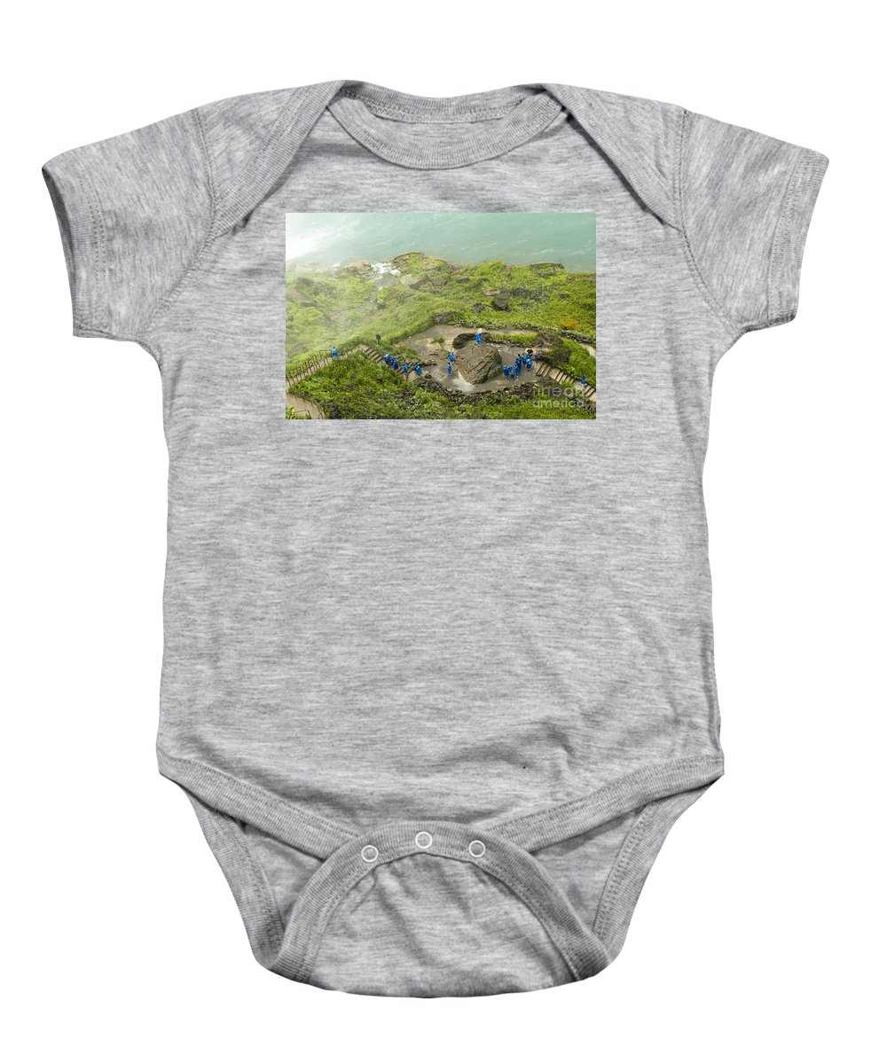 Baby Onesie featuring the photograph Niagara Falls Four by Sara Schroeder