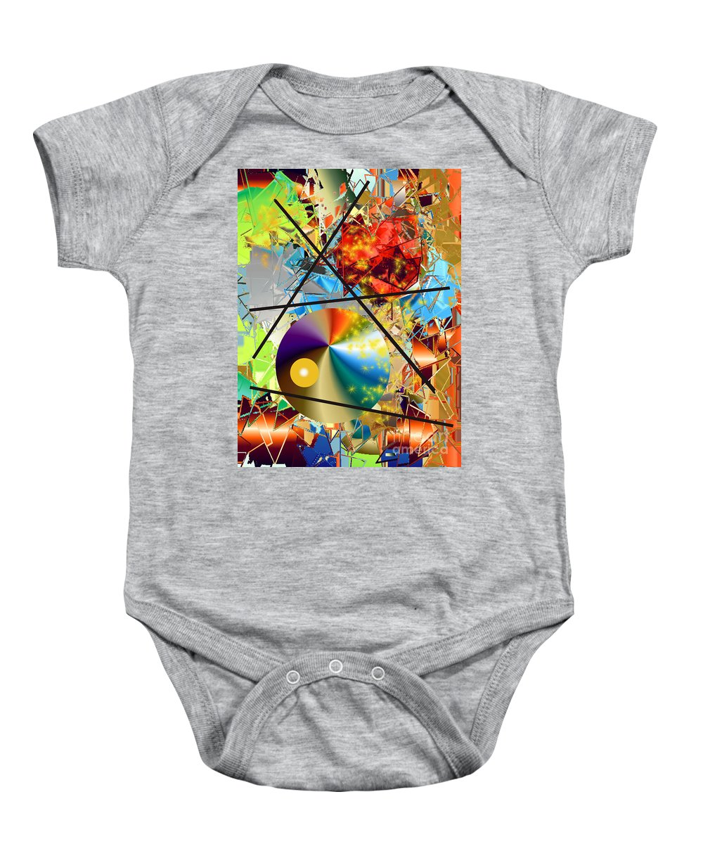 Baby Onesie featuring the photograph No. 142 by John Grieder