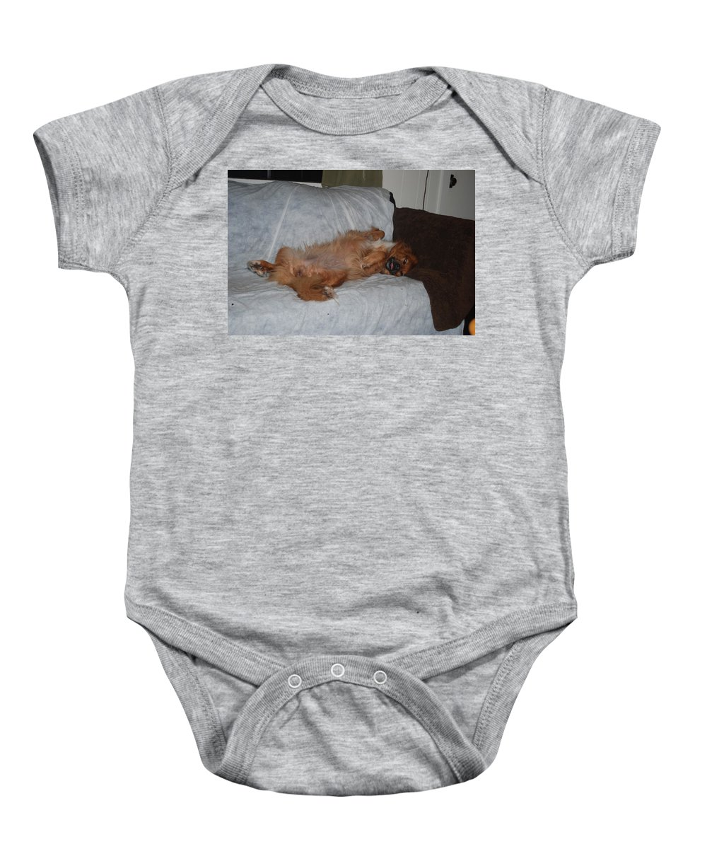 Lady Sleeping Baby Onesie featuring the photograph Not A Lady by Robert Floyd