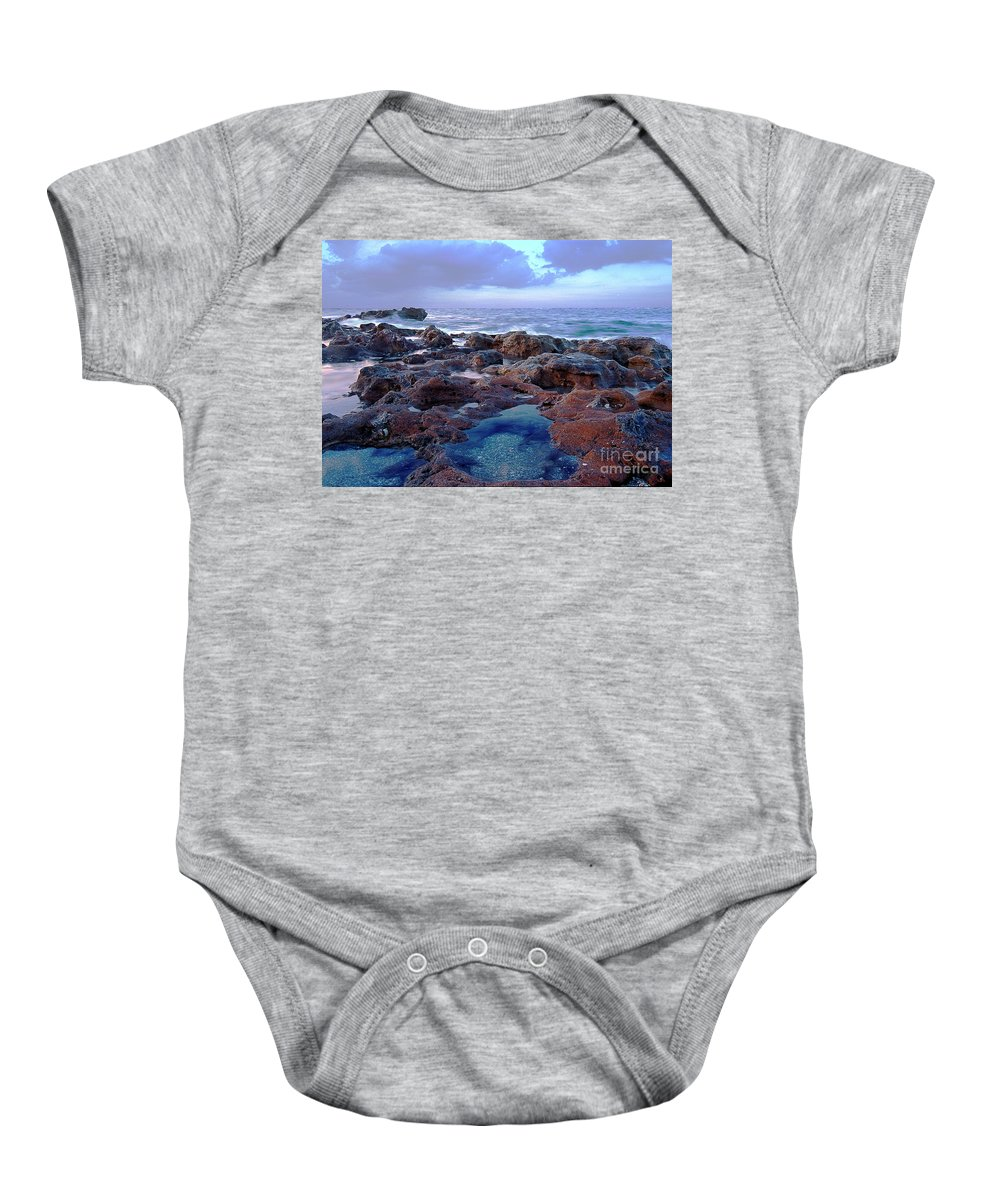 Ocean Baby Onesie featuring the photograph Ocean View II by Bruce Bain