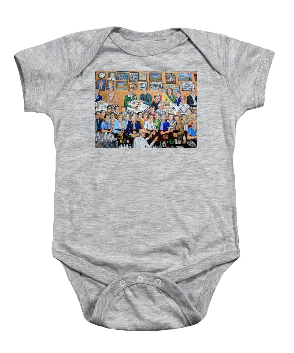 Wall Art Baby Onesie featuring the photograph Outside Looking In by Ed Weidman