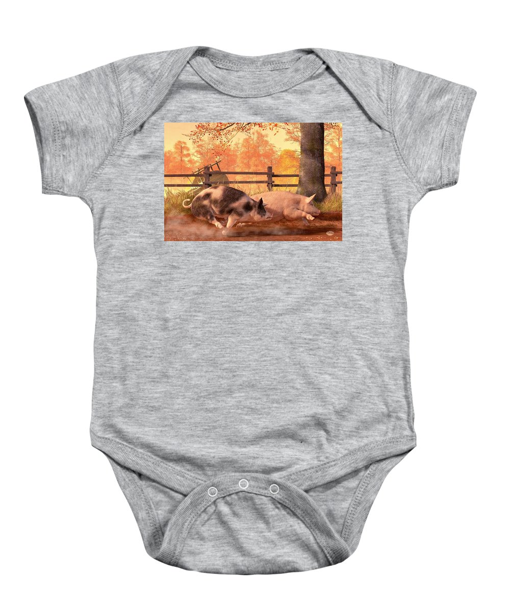 Barbeque Baby Onesies