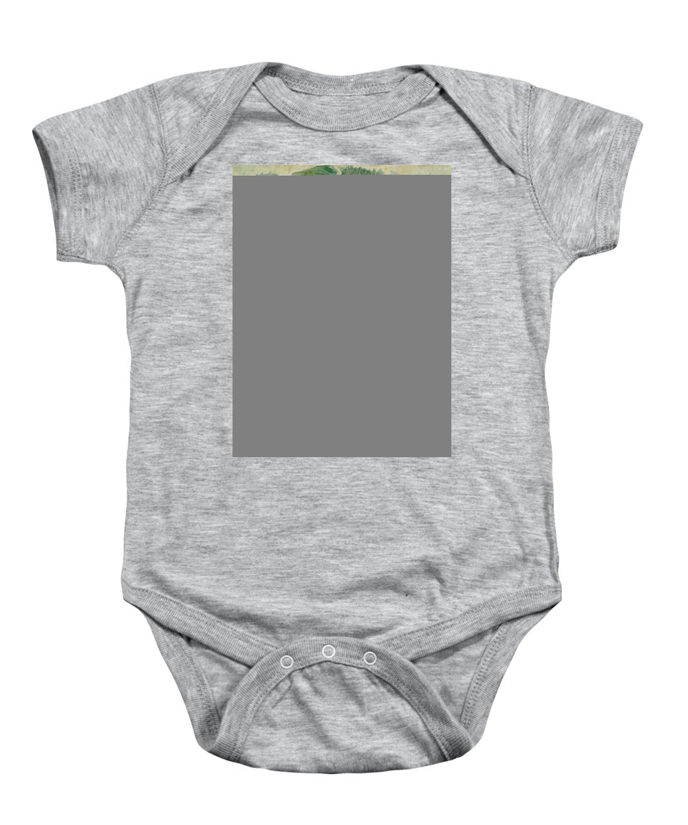 Russia Baby Onesie featuring the photograph Portrait Of A Woman Worker, 1912 by Kuzma Sergeevich Petrov-Vodkin