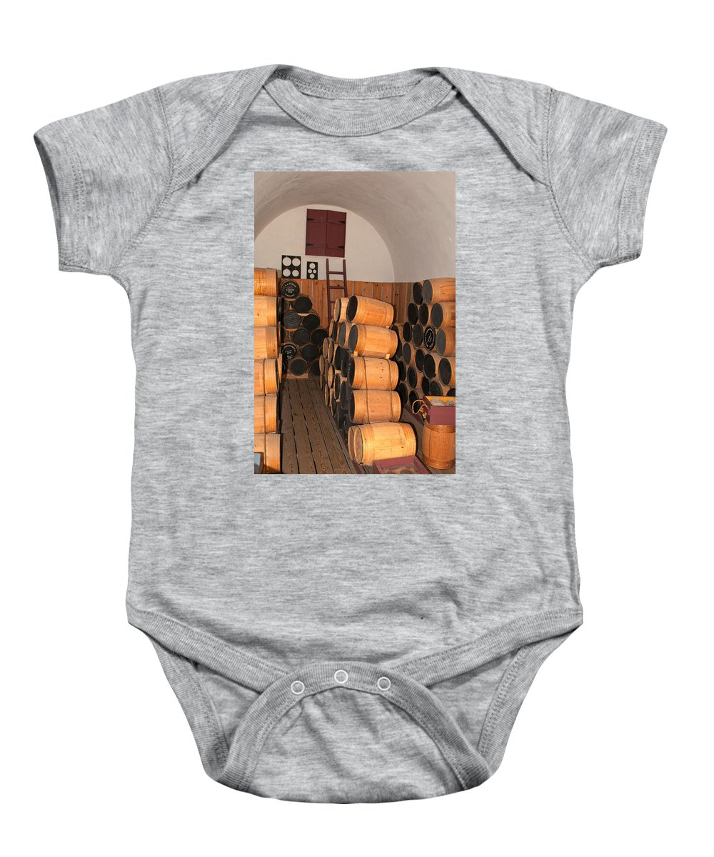 ft Mchenry Baby Onesie featuring the photograph Powder Room by Paul Mangold