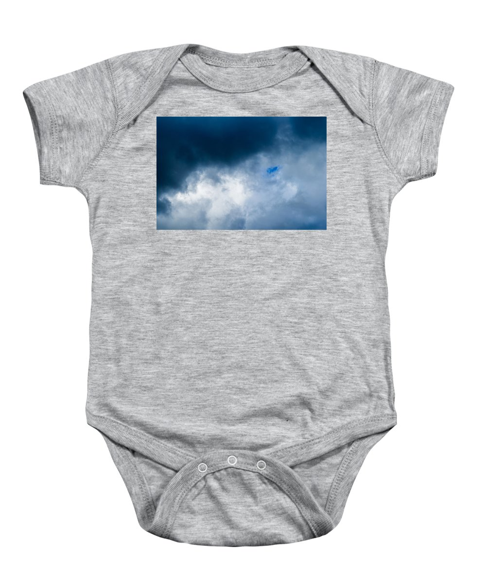 Abstract Baby Onesie featuring the photograph Promise Of Sun - Featured 3 by Alexander Senin