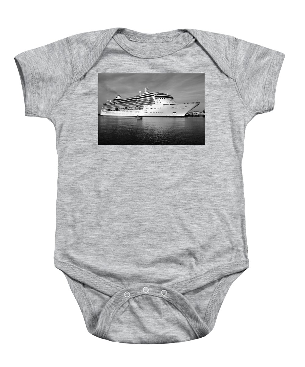 Fine Art Photography Baby Onesie featuring the photograph Protecting The Jewels by David Lee Thompson