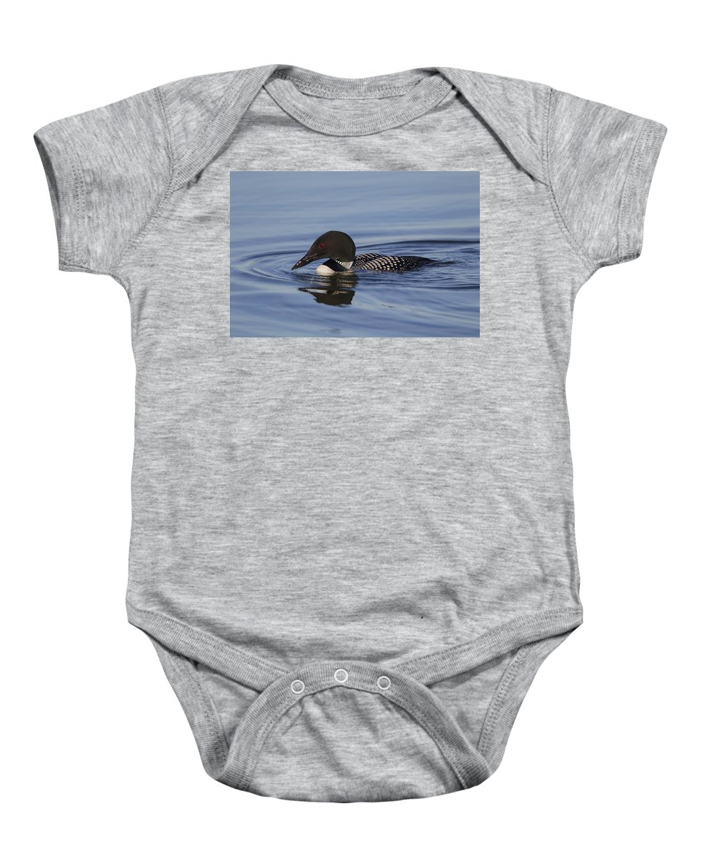 Doug Lloyd Baby Onesie featuring the photograph Ready To Dive by Doug Lloyd