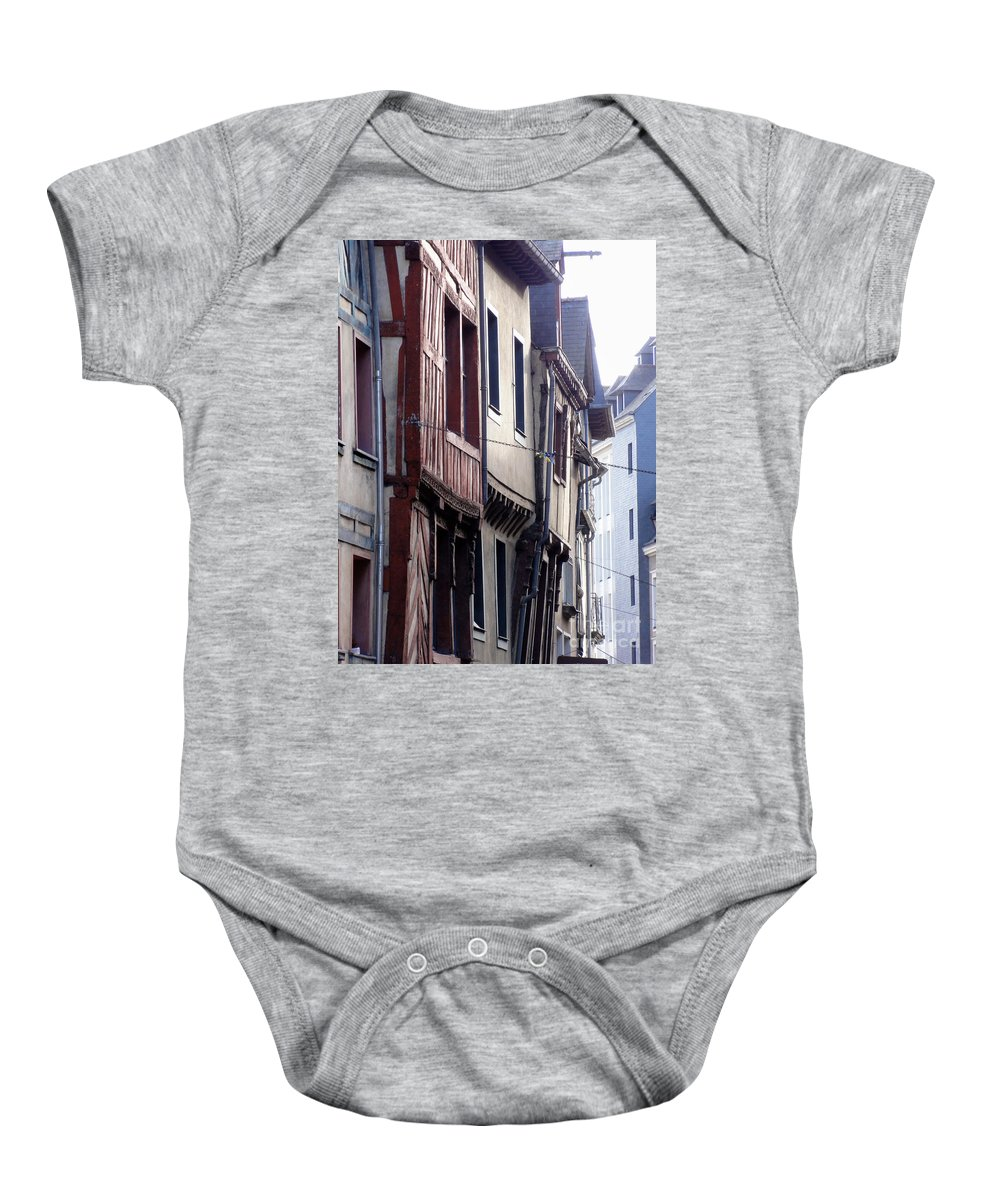 France Baby Onesie featuring the photograph Rennes France 2 by Christopher Plummer