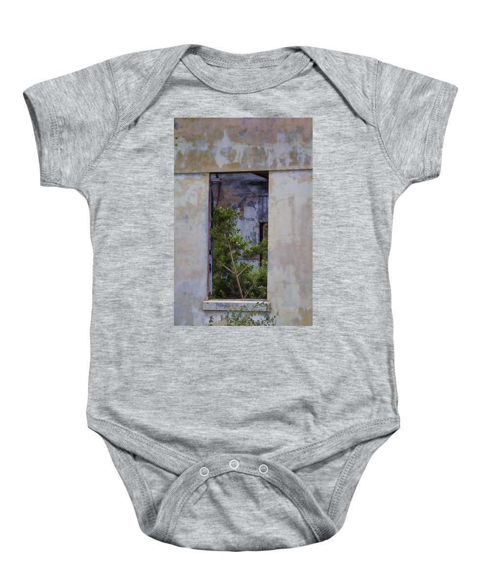 Ruins Baby Onesie featuring the photograph Retaking The Ruins V2 by Douglas Barnard