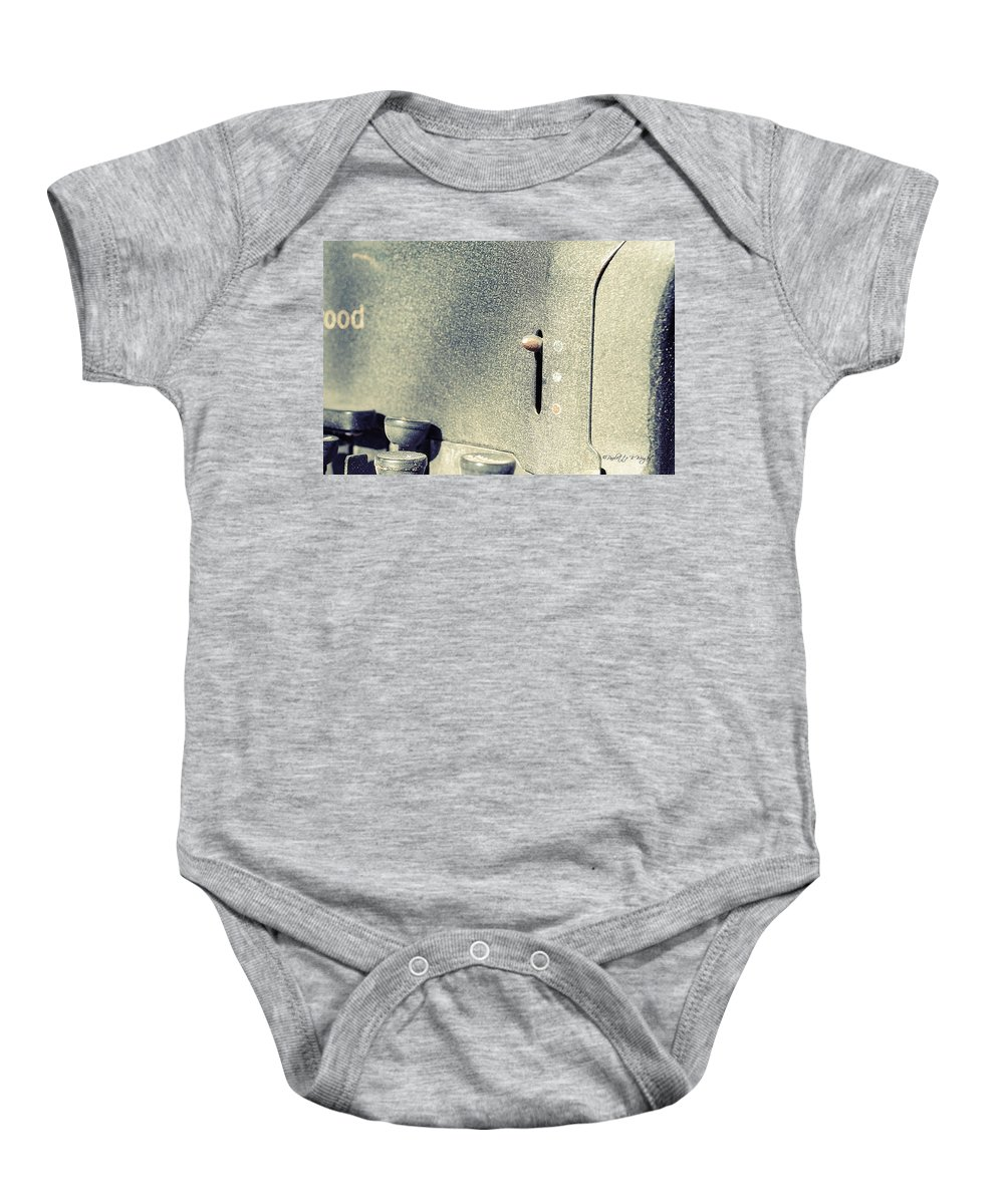 Popular Baby Onesie featuring the photograph Ribbon Selector by Paulette B Wright