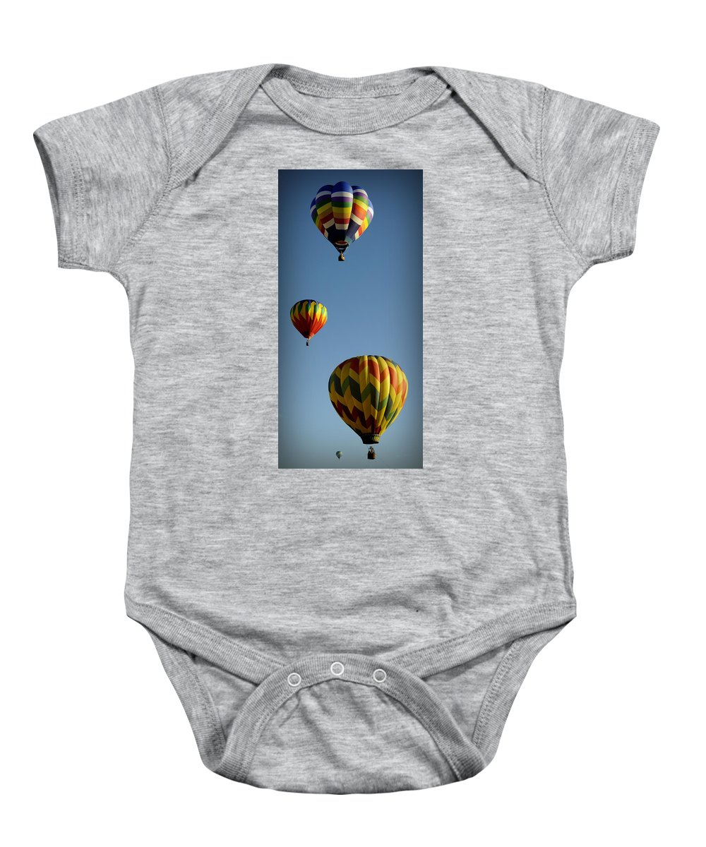 Hot Baby Onesie featuring the photograph Rise Above by Luke Moore