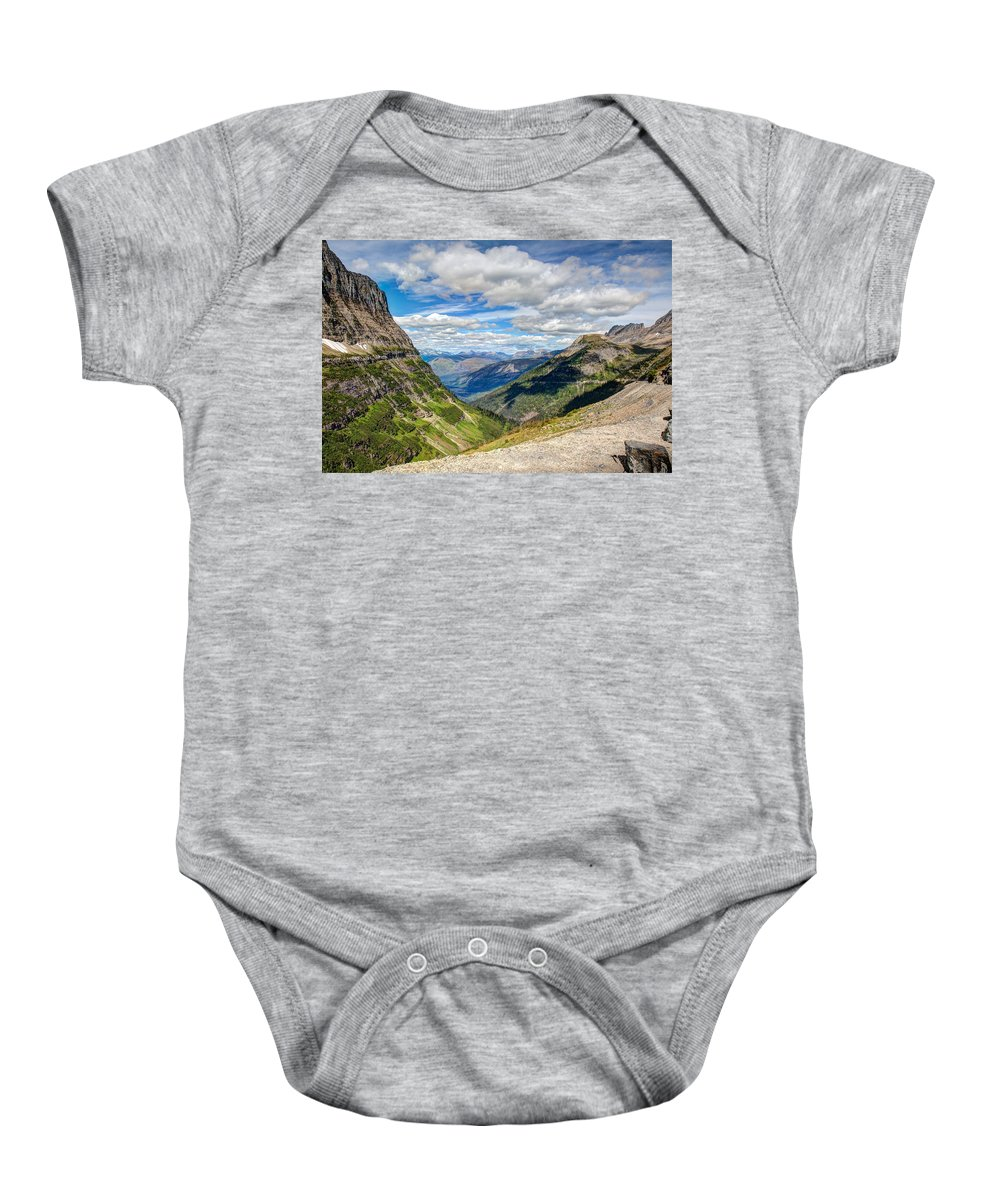 National Baby Onesie featuring the photograph Road To The Sun by John M Bailey