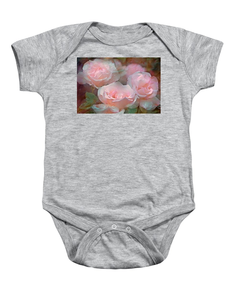 Floral Baby Onesie featuring the photograph Rose 243 by Pamela Cooper