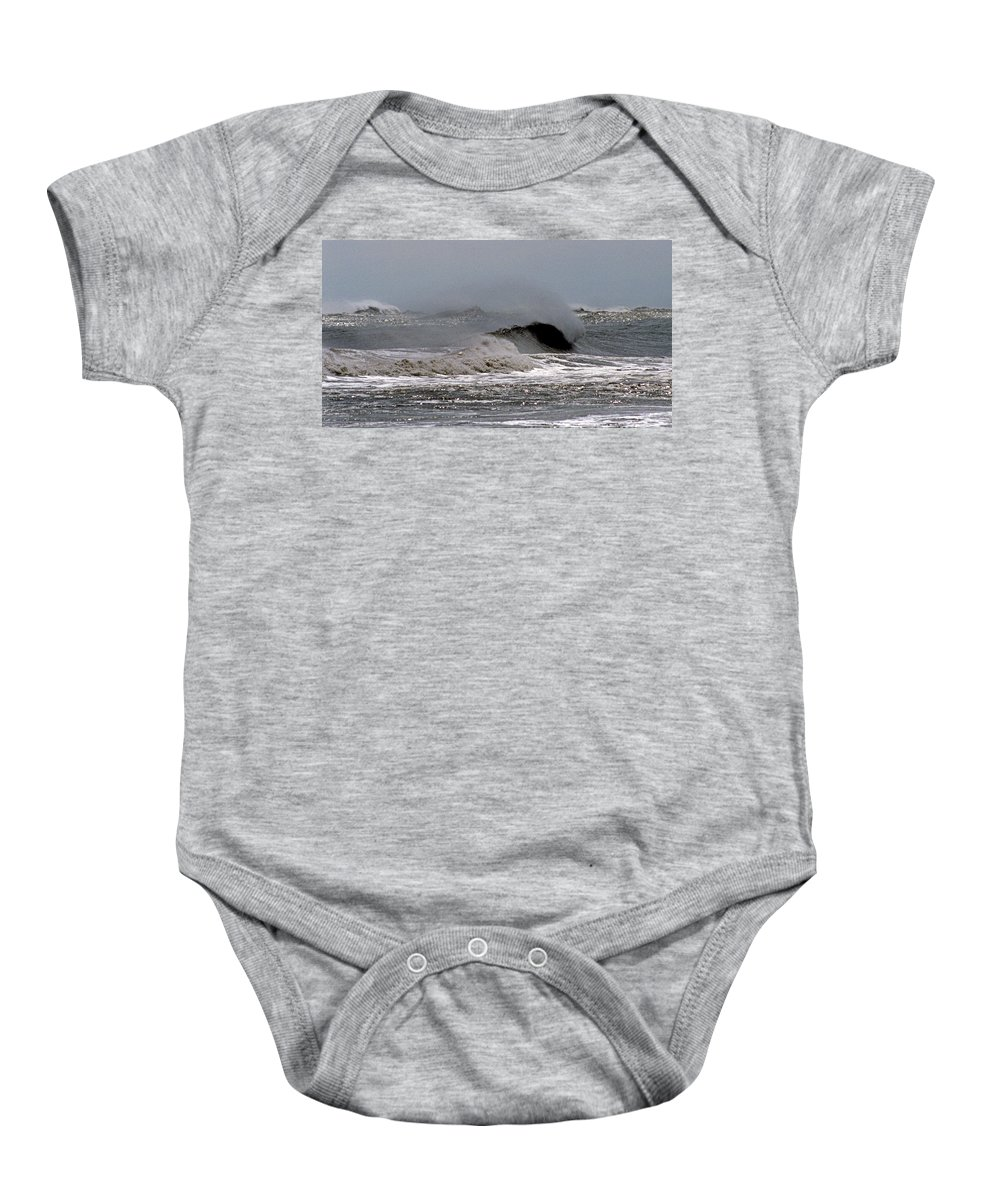 Nature Baby Onesie featuring the photograph Shore Breeze by Skip Willits