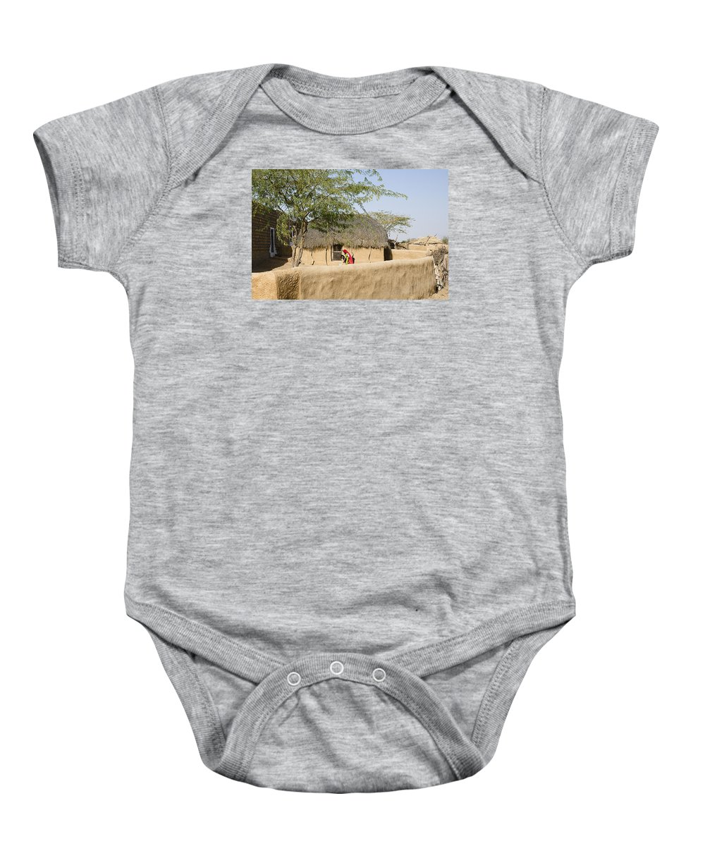 Rural Baby Onesie featuring the photograph Skn 1401 Rural Background by Sunil Kapadia