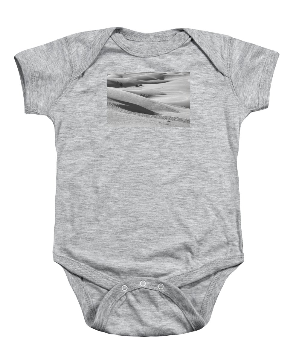 Slopes Baby Onesie featuring the photograph Skn 1432 Slopes And Curves by Sunil Kapadia