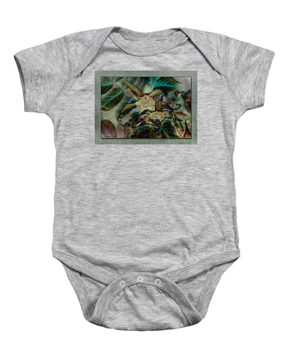 Rose Hips Baby Onesie featuring the photograph So Hip by WB Johnston