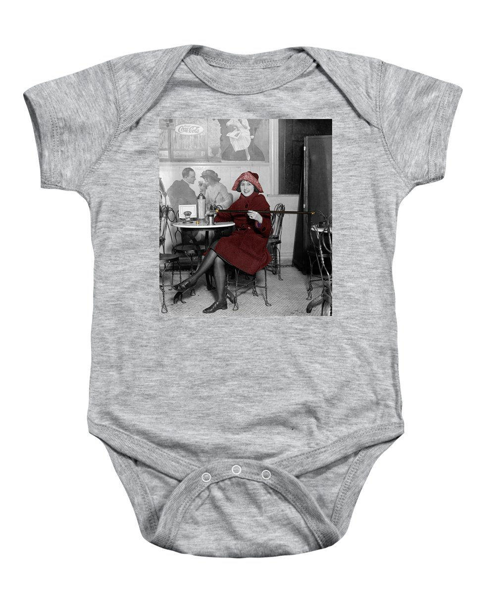Soda Fountain Baby Onesie featuring the photograph Soda Fountain 3 by Andrew Fare