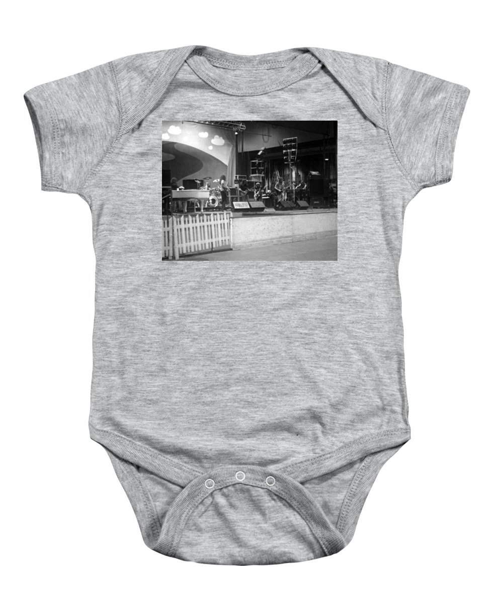 Lynyrd Skynyrd Baby Onesie featuring the photograph Soundcheck #7 by Ben Upham
