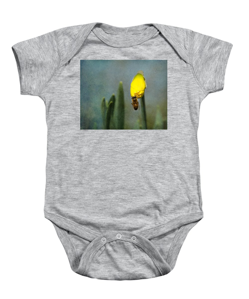 Blooming Baby Onesie featuring the photograph Spring by Jemmy Archer