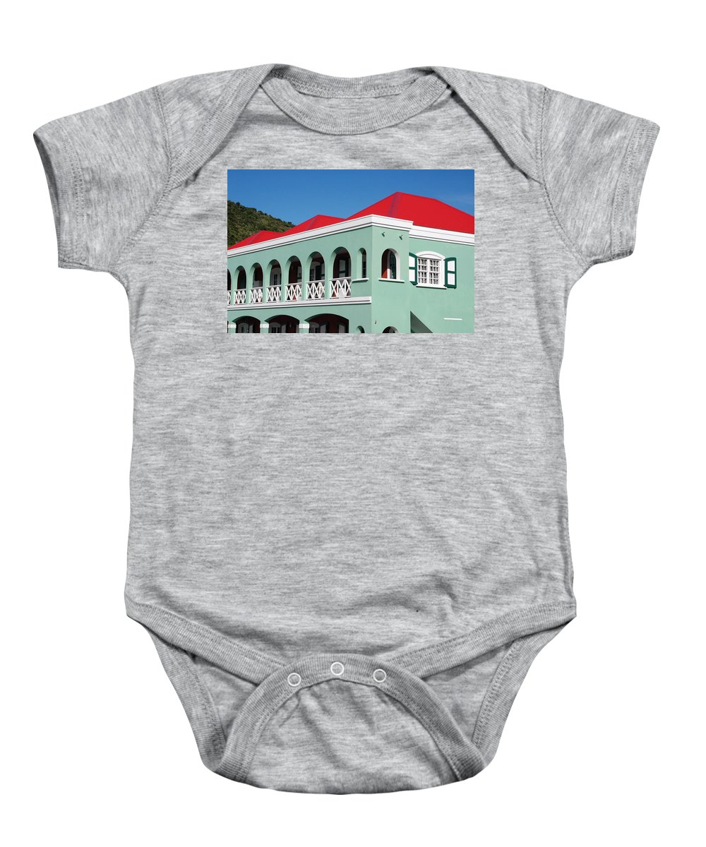 Baby Onesie featuring the photograph St Maratan by Daniel B McNeill