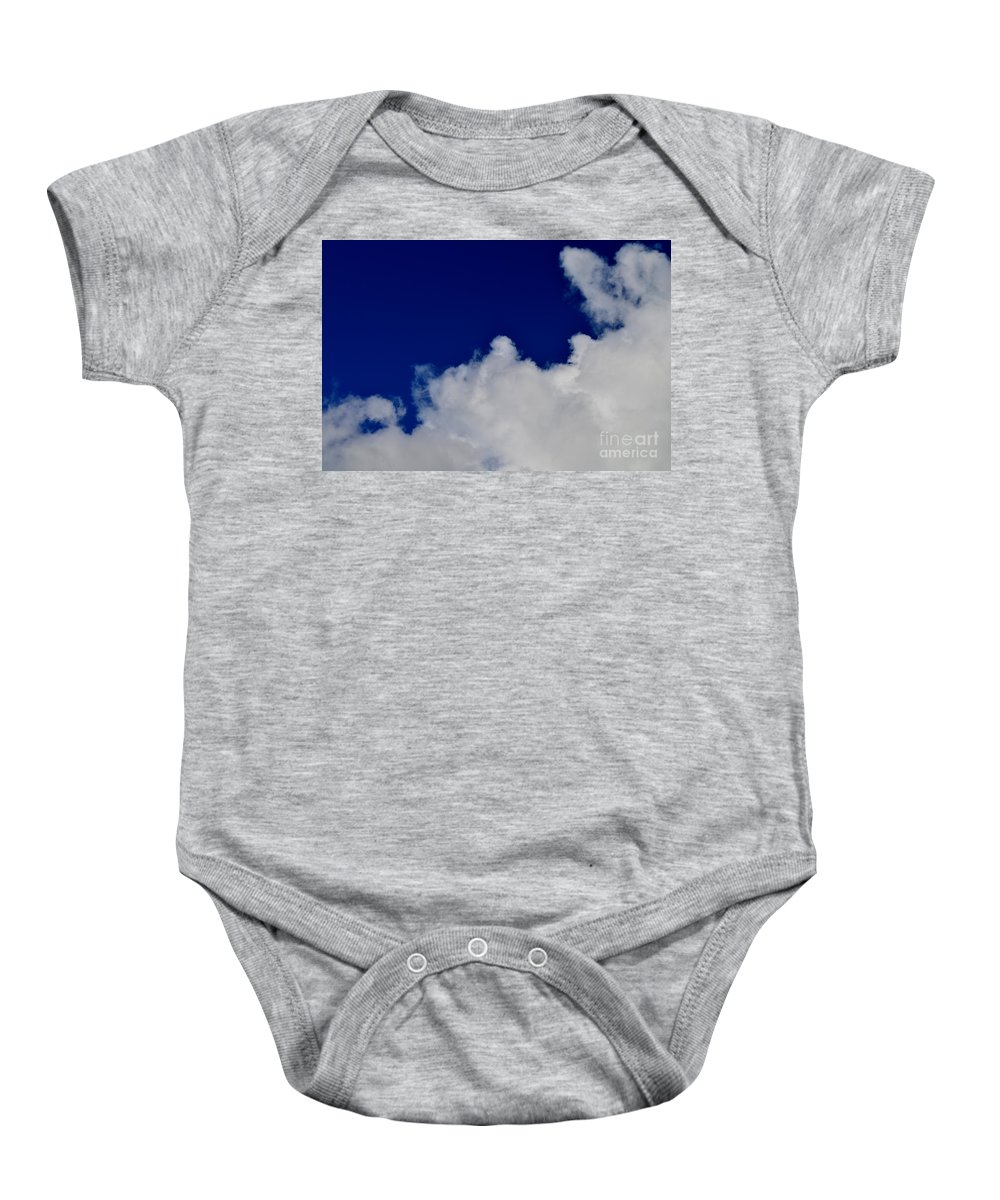 Clouds Baby Onesie featuring the photograph Storm Clouds At Night by Mary Deal