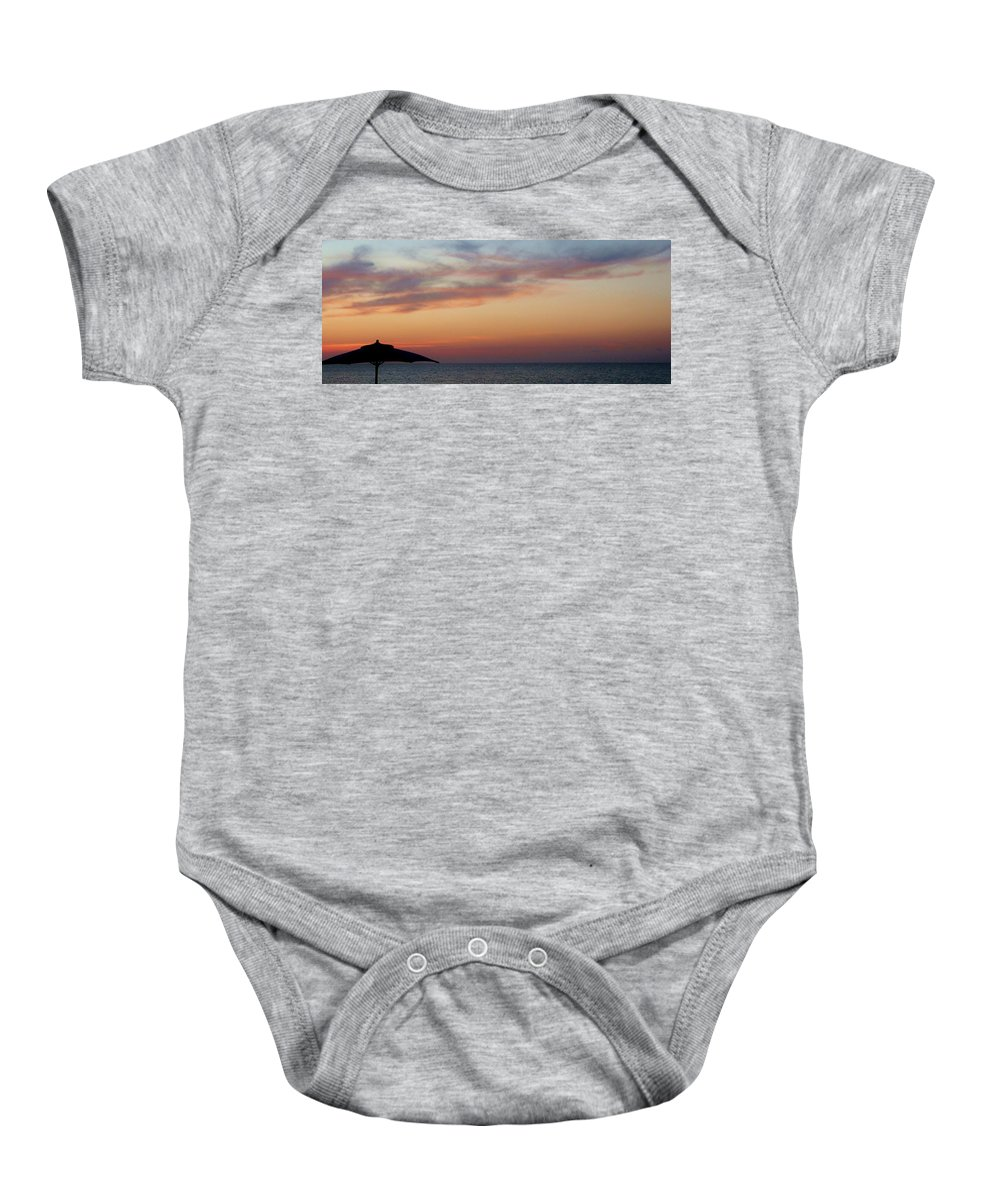 Color Baby Onesie featuring the photograph Sunshade by Amar Sheow