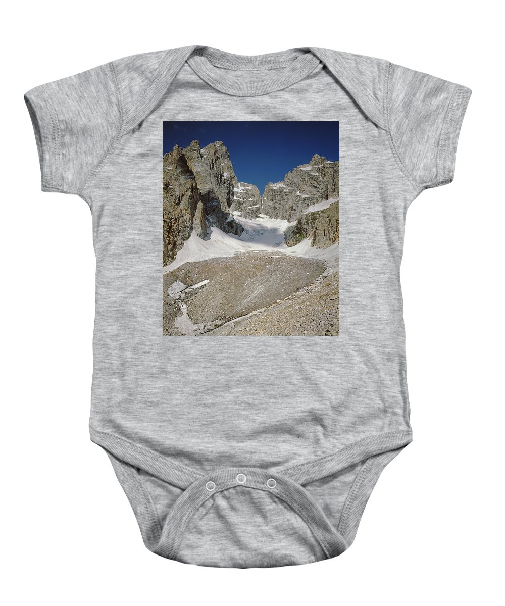 Teton Glacier Baby Onesie featuring the photograph 1m9385-teton Glacier by Ed Cooper Photography