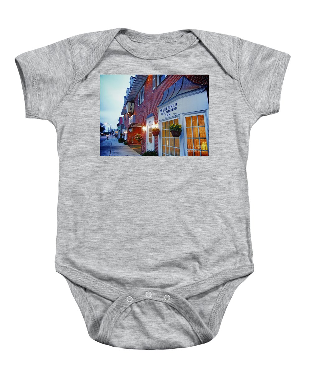 Westfield Baby Onesie featuring the photograph The Cozy Inn by Nishanth Gopinathan