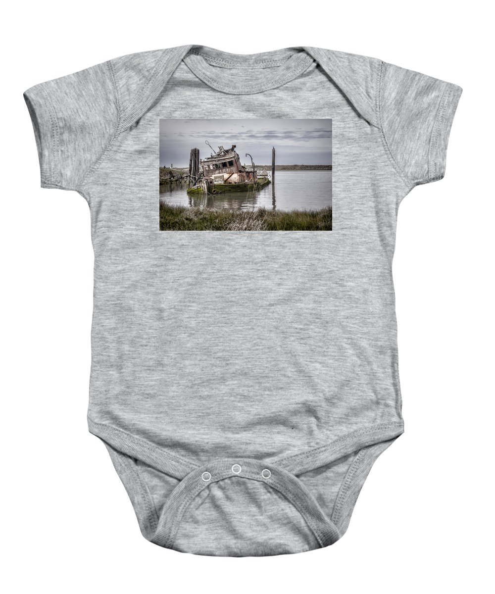 Mary D Hume Baby Onesie featuring the photograph The Mary D. Hume by Heather Applegate