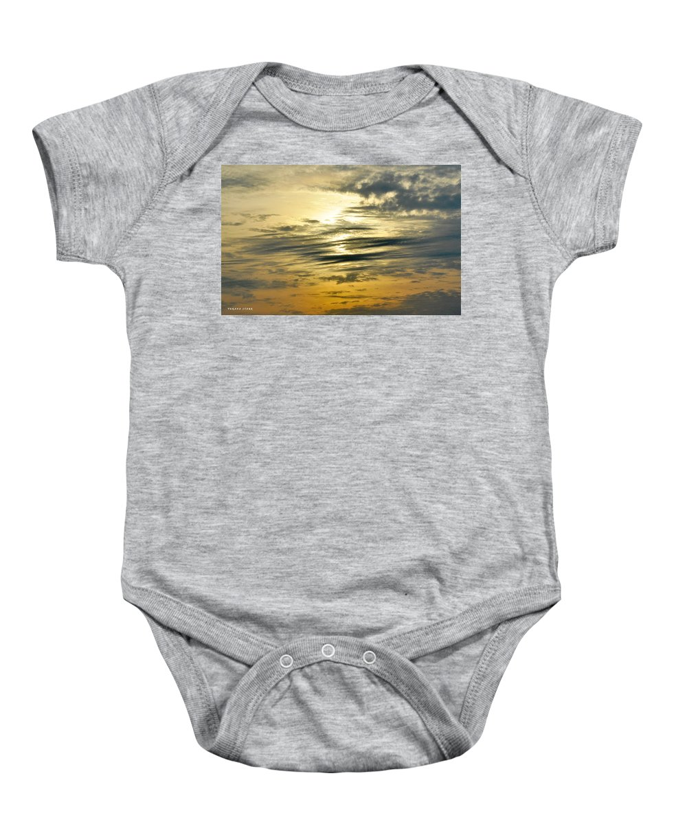 Sky Baby Onesie featuring the photograph The Place Where Dreams Live by Verana Stark