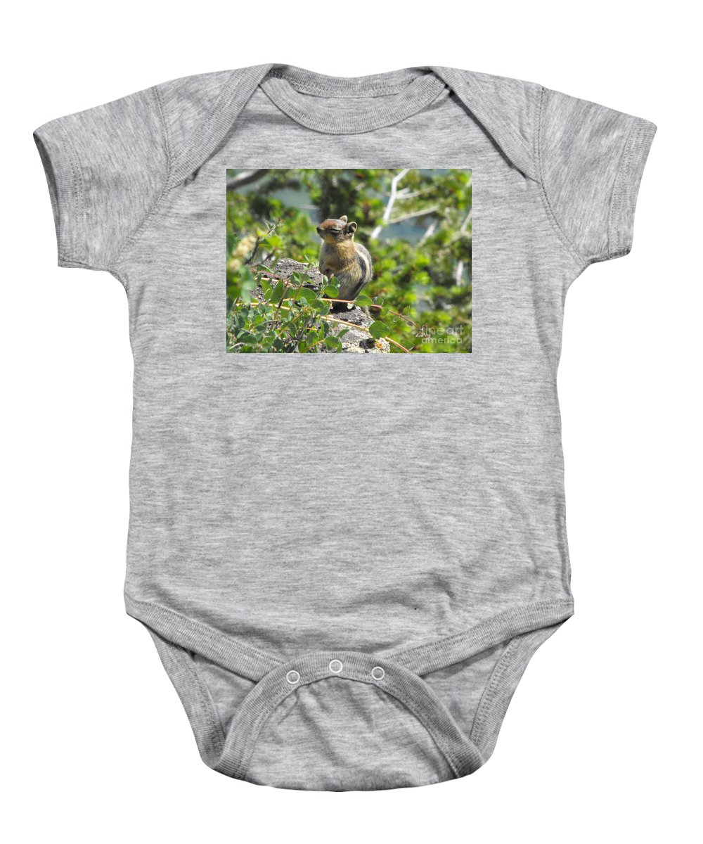 Animals Baby Onesie featuring the photograph This Is The Life by Brandi Maher