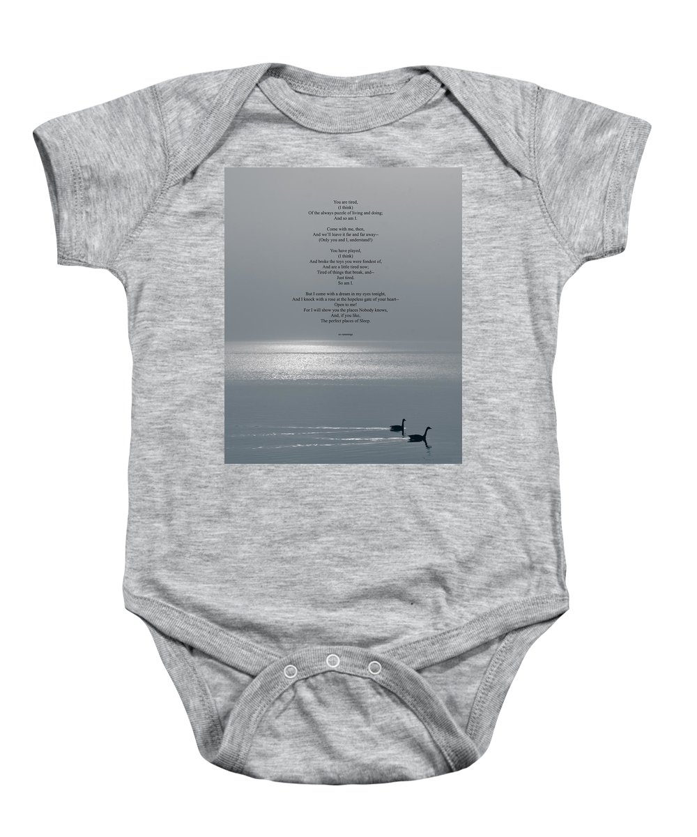Newburyport Baby Onesie featuring the photograph Tired by Rick Mosher