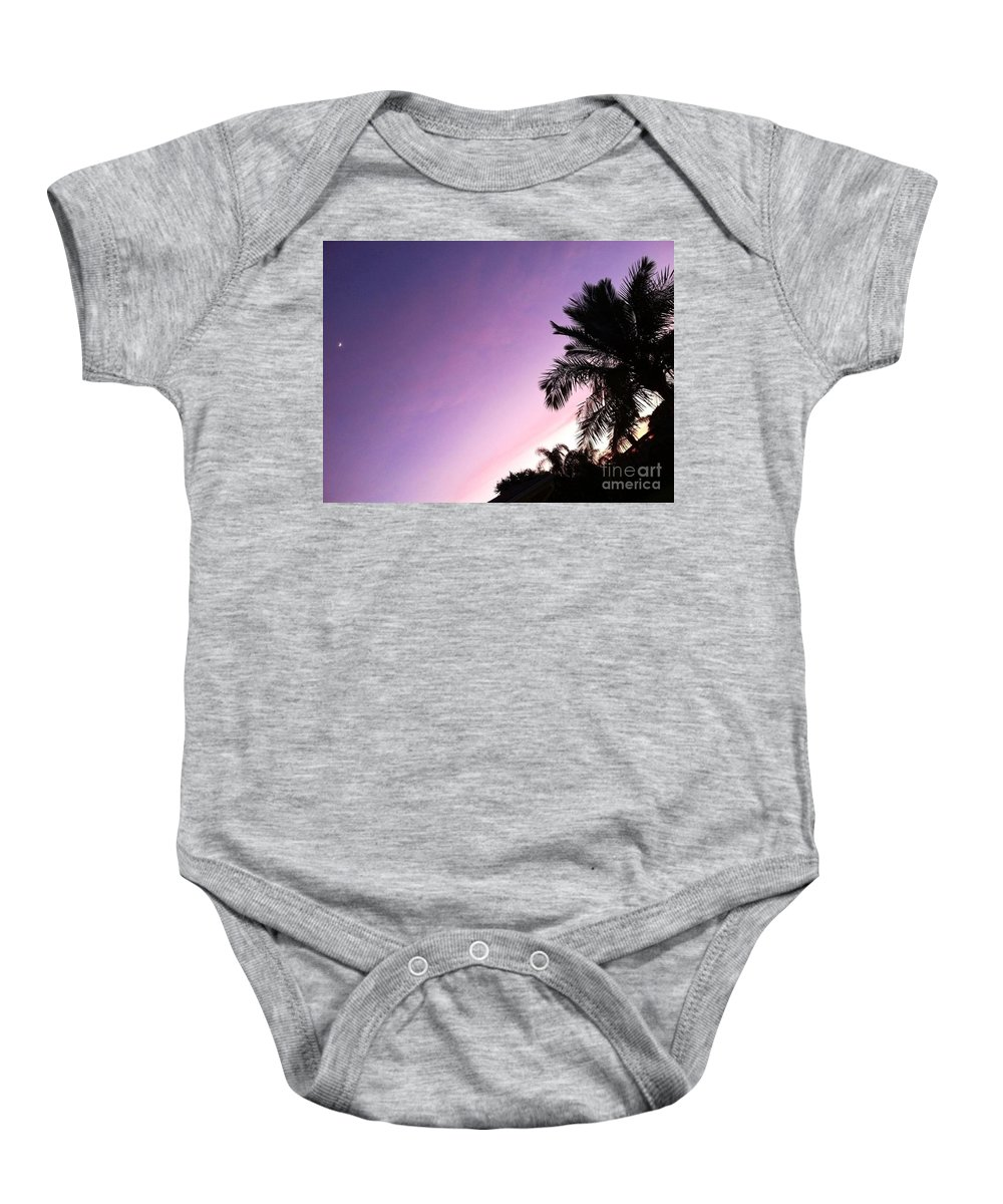 Paradise Baby Onesie featuring the photograph True Colors by Melissa Darnell Glowacki
