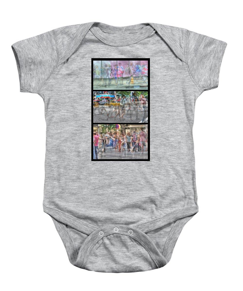 City Baby Onesie featuring the photograph Urbanatomy - Flow by Doug Matthews