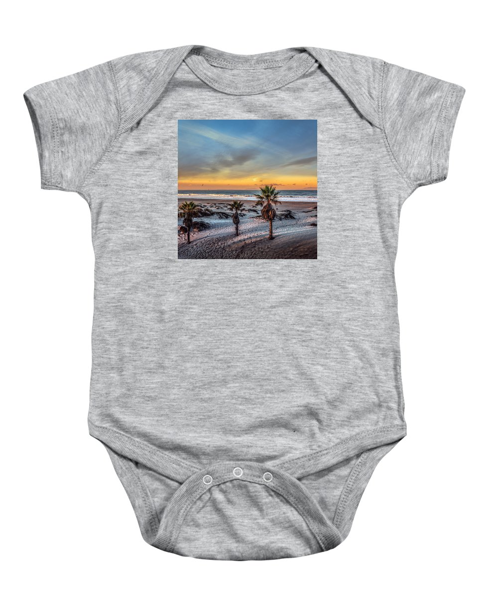 California Baby Onesie featuring the photograph Wake Up For Sunrise In California by Ludmila Nayvelt