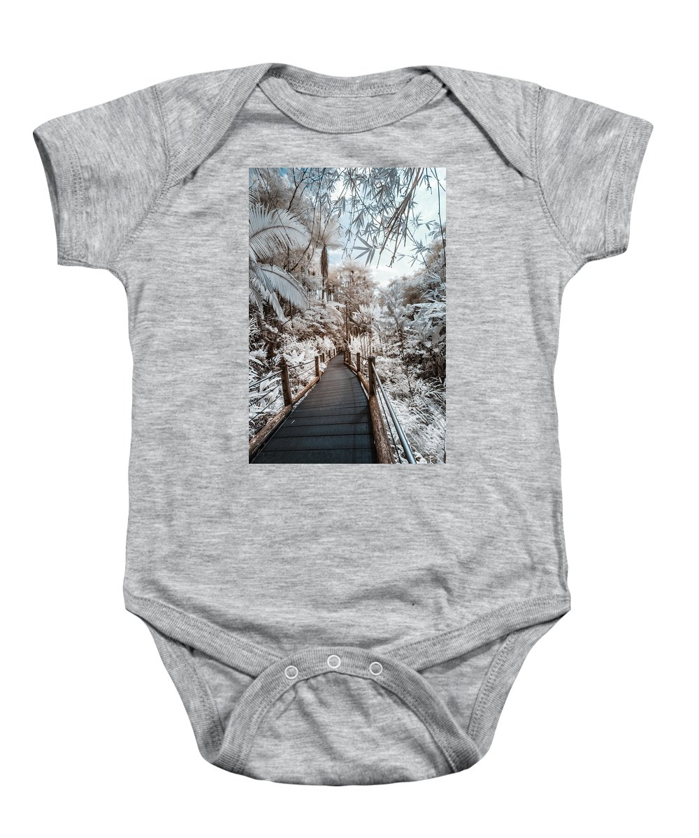 720 Nm Baby Onesie featuring the photograph Walking Into The Infrared Jungle 3 by Jason Chu