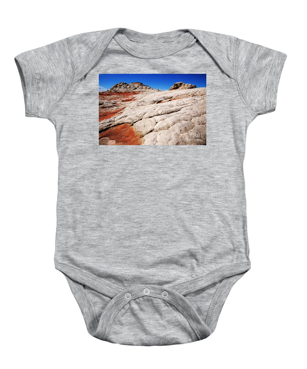 White Pocket Baby Onesie featuring the photograph White Pocket 3 by Vivian Christopher
