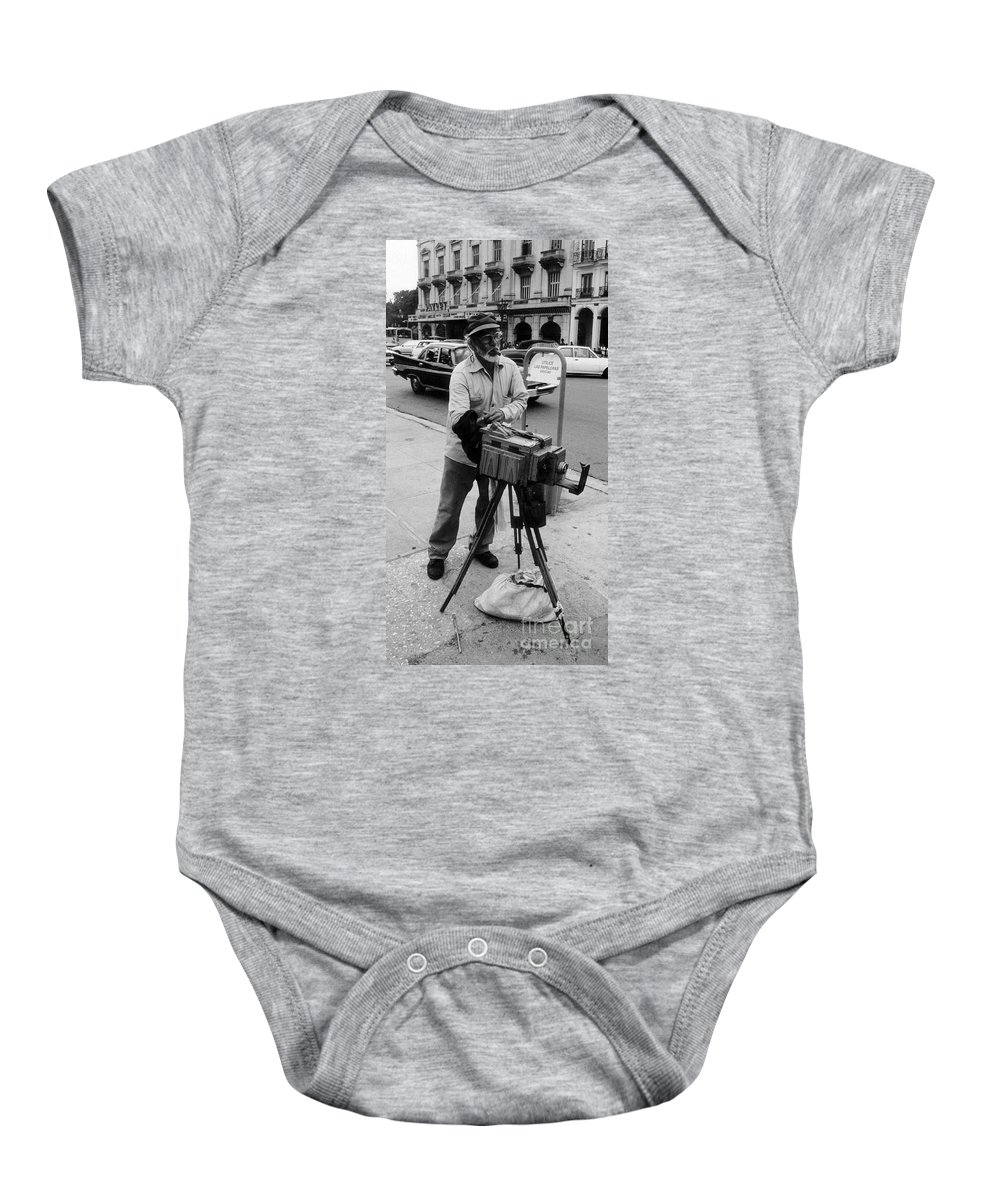 Photography Baby Onesie featuring the photograph Yep We Both Still Work by John Malone