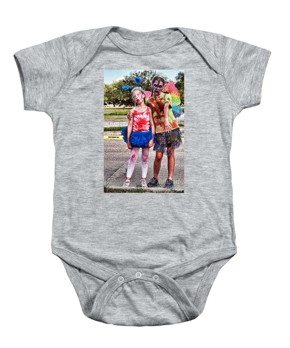 Zombie Baby Onesie featuring the photograph Zombie Run Nola 3 by Kathleen K Parker
