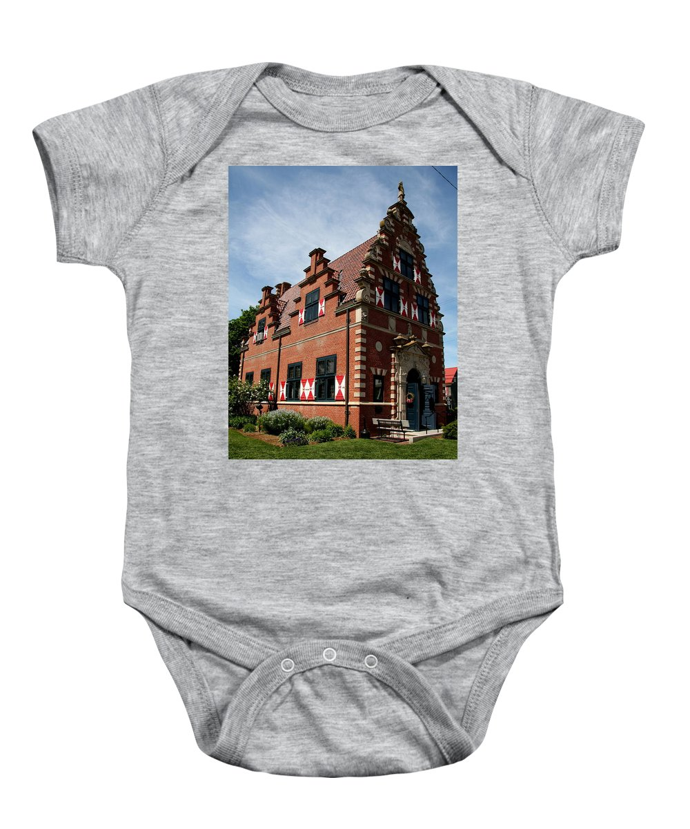 Building Baby Onesie featuring the photograph Zwaanendal Museum I by Christiane Schulze Art And Photography