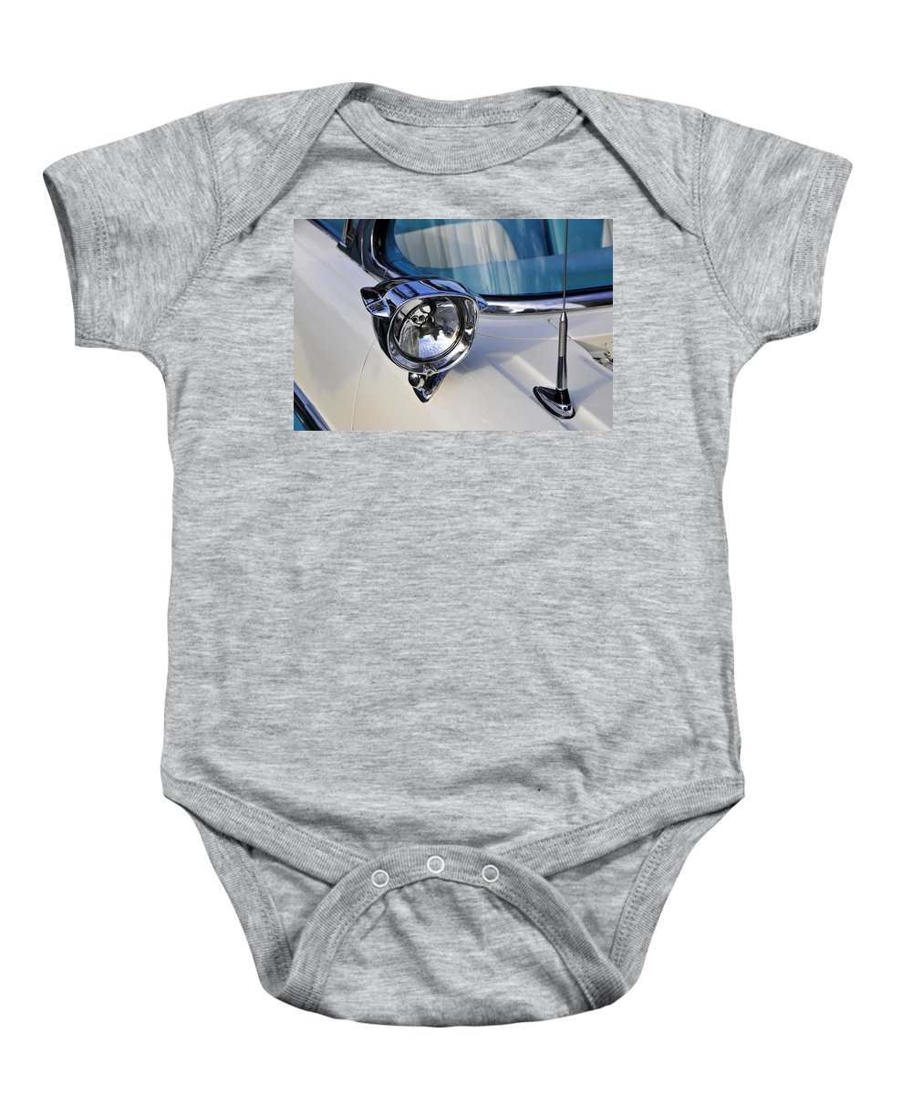 Fine Art Photography Baby Onesie featuring the photograph Classic Lights by David Lee Thompson