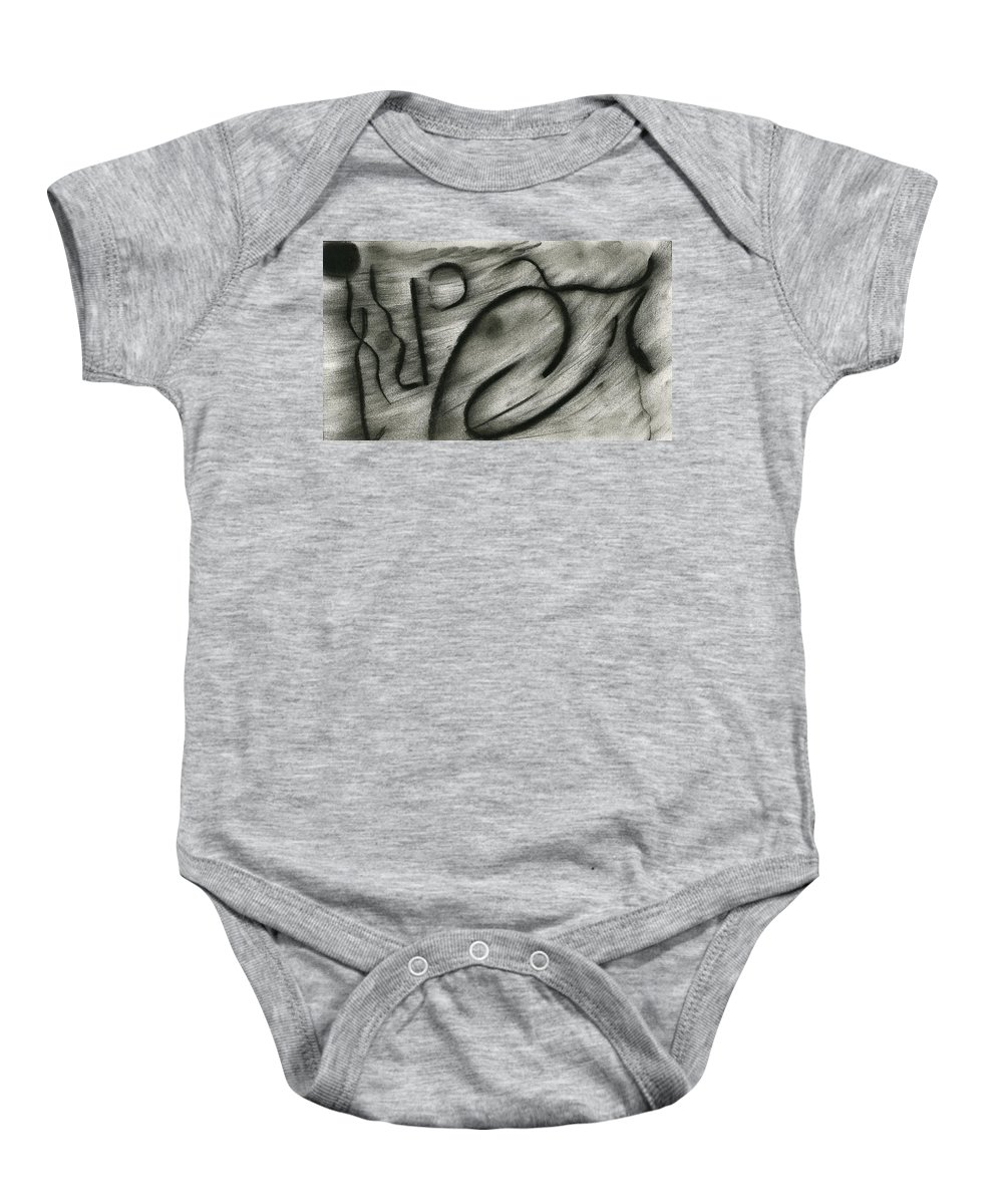 Musical Spells Baby Onesie featuring the painting Musical Spells by Taylor Webb