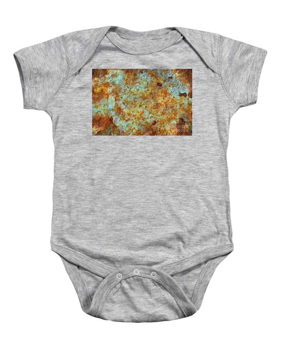 Abandoned Baby Onesie featuring the photograph Rust Colors by Carlos Caetano