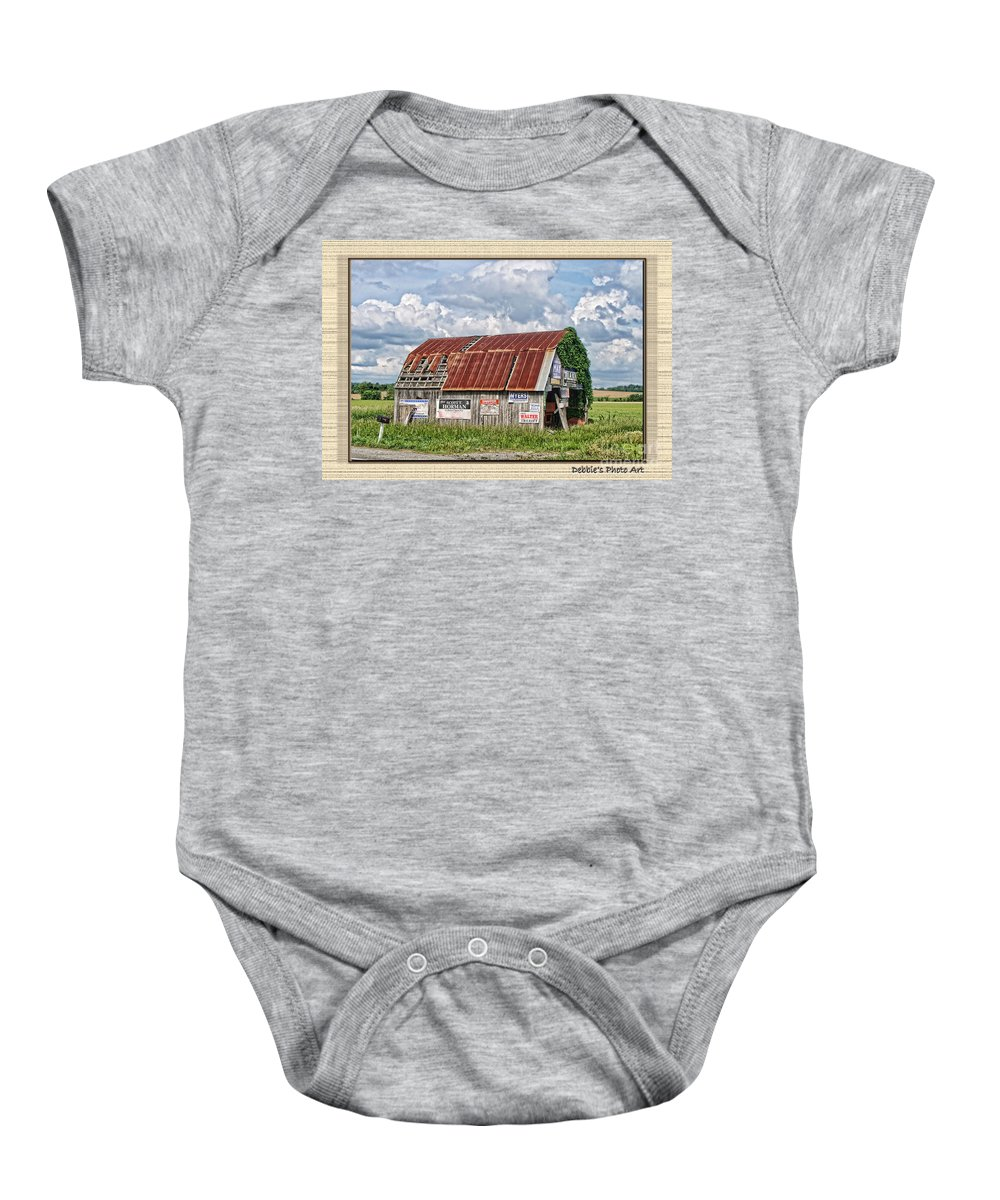 Landscape Baby Onesie featuring the photograph Vote For Me I by Debbie Portwood