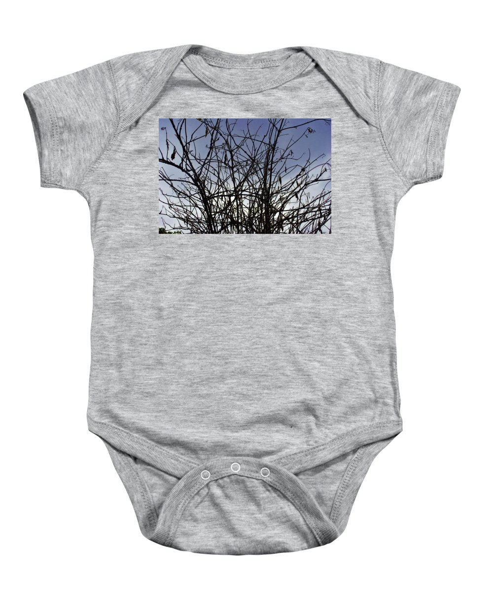 Flower Baby Onesie featuring the photograph Yet To Spring by Sumit Mehndiratta